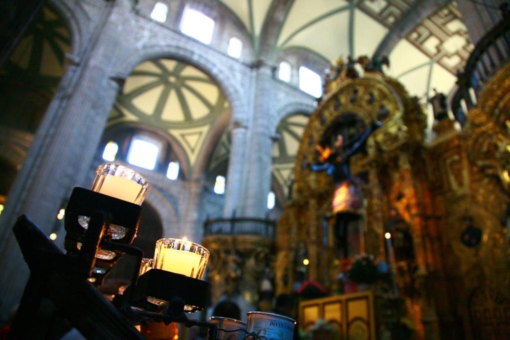 ソカロ広場 大聖堂