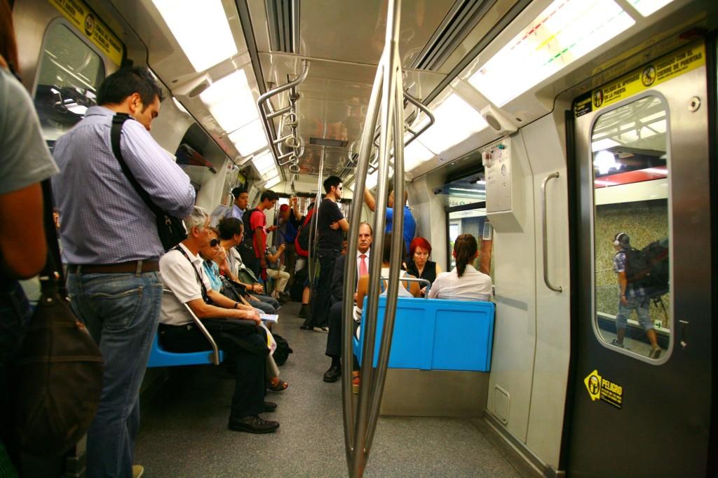 サンチアゴの地下鉄
