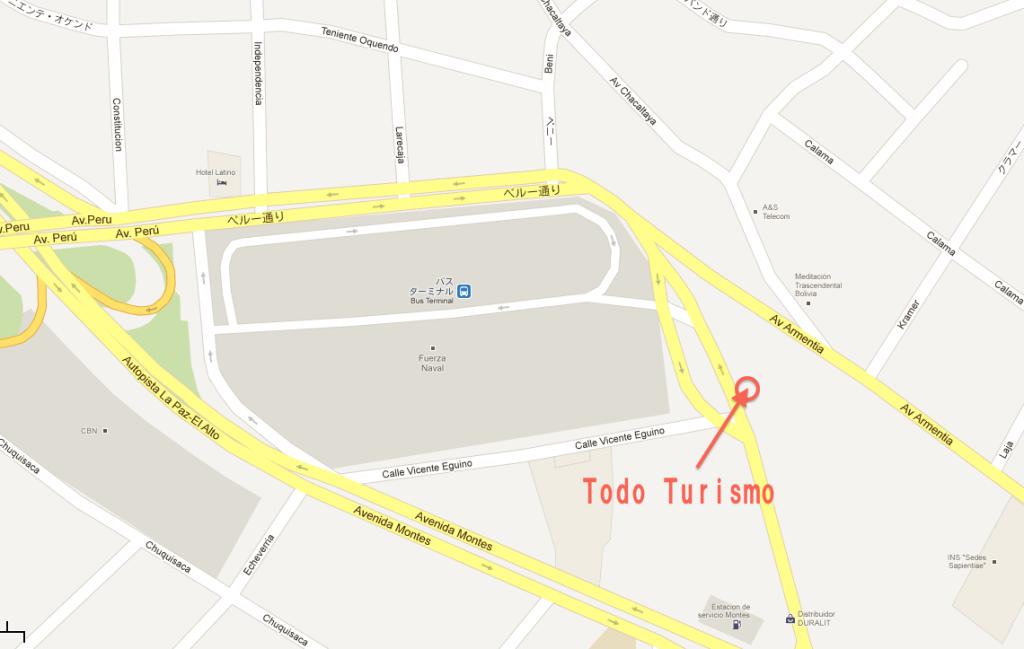 Todo Turismoの場所