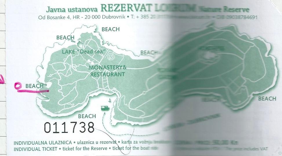 ロクルム島行きの船チケット