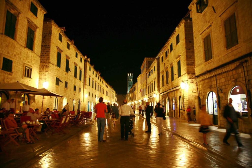 ドブロブニク旧市街内