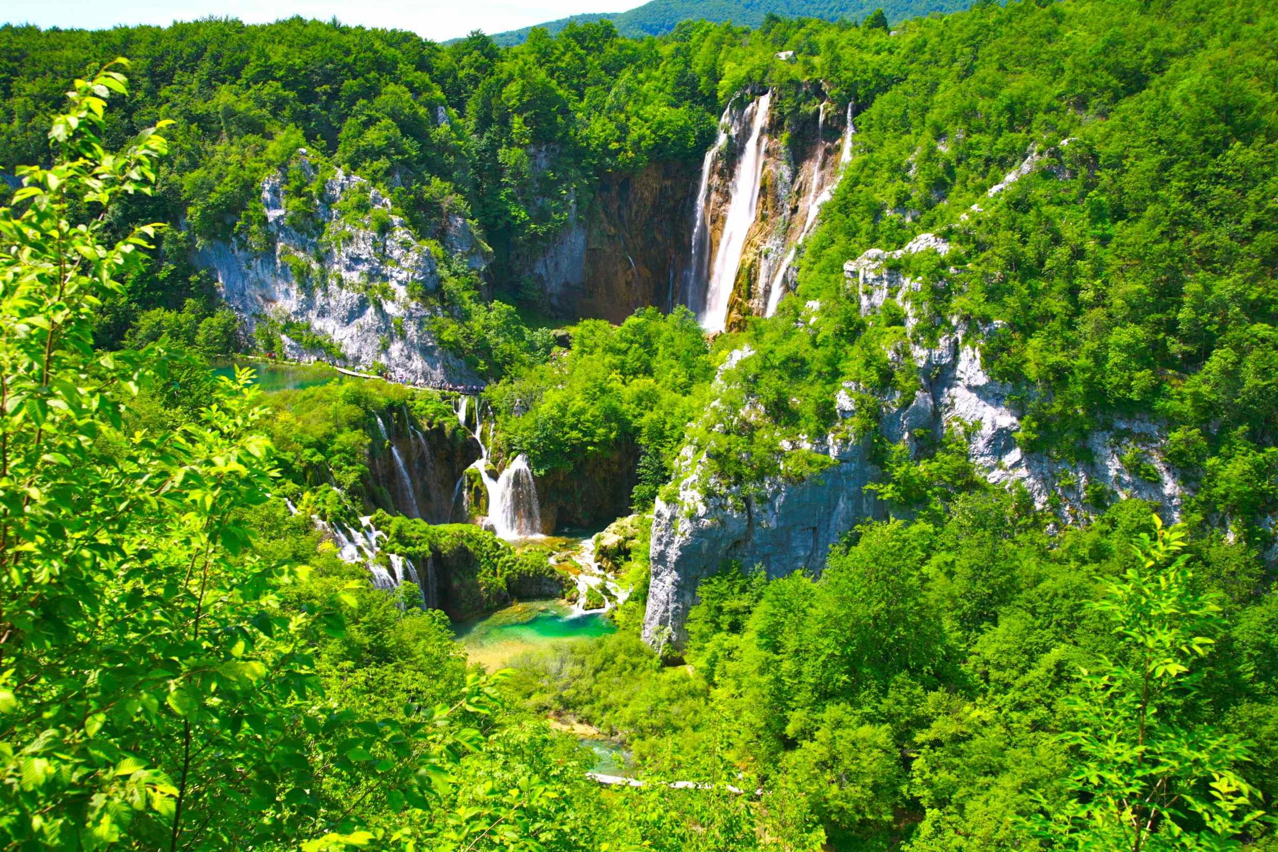 プリトヴィツェ湖群国立公園の画像 p1_40