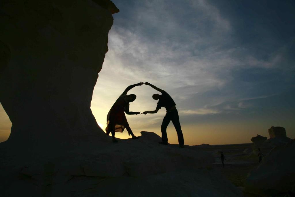 白砂漠、夫婦でフィージョン