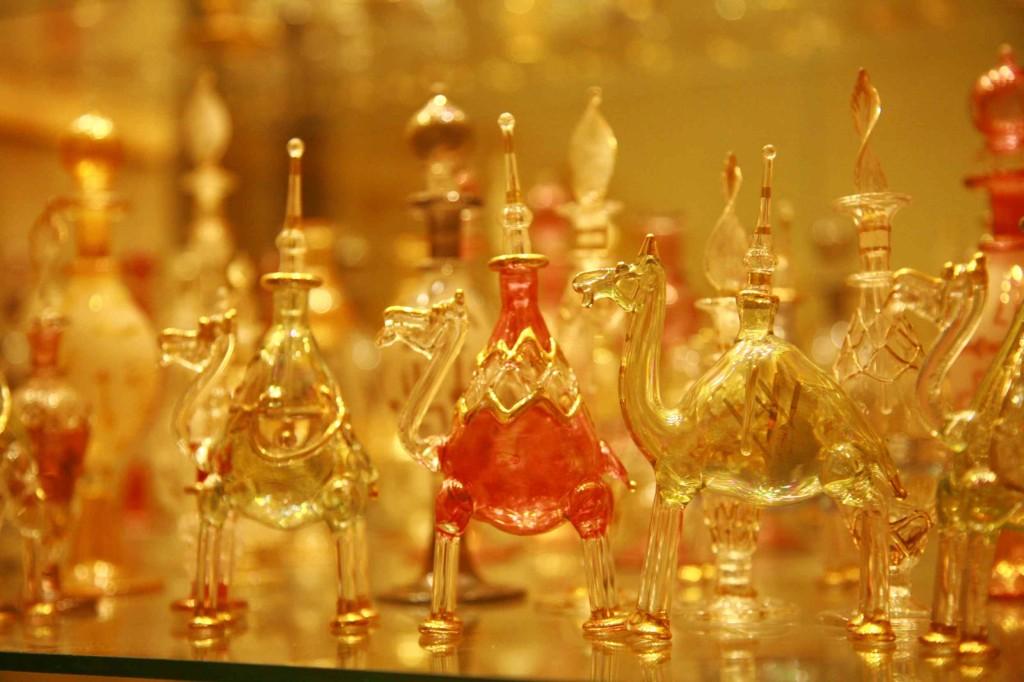 エジプトから送ったラクダの香水瓶