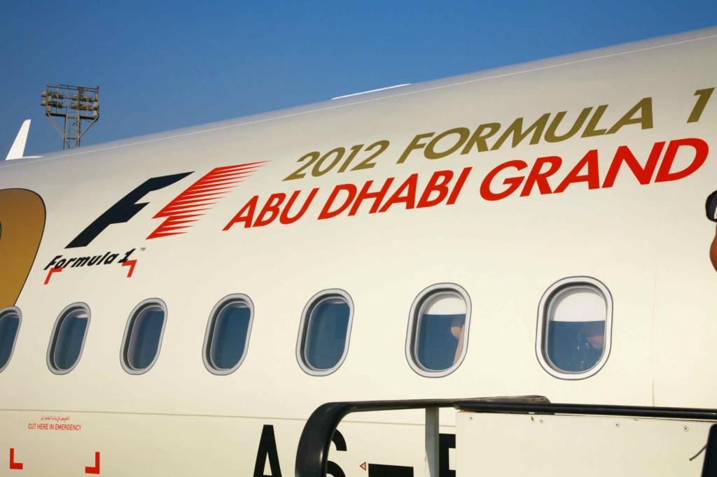 エディアド航空は、F1アブダビグランプリのタイトルスポンサーでもある。
