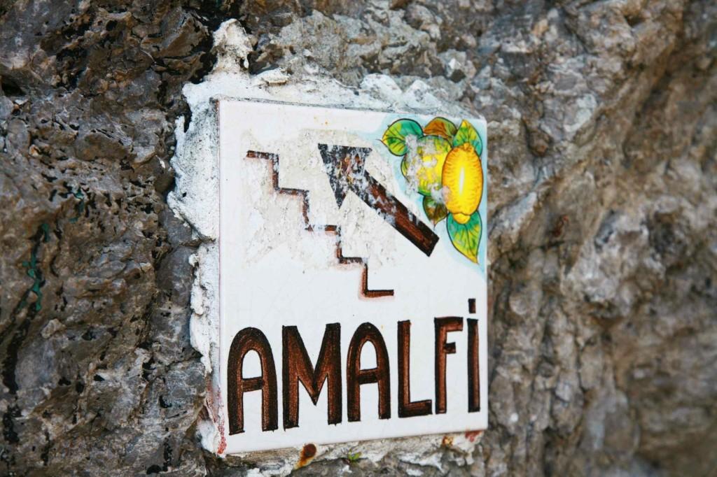アマルフィまで徒歩10分。