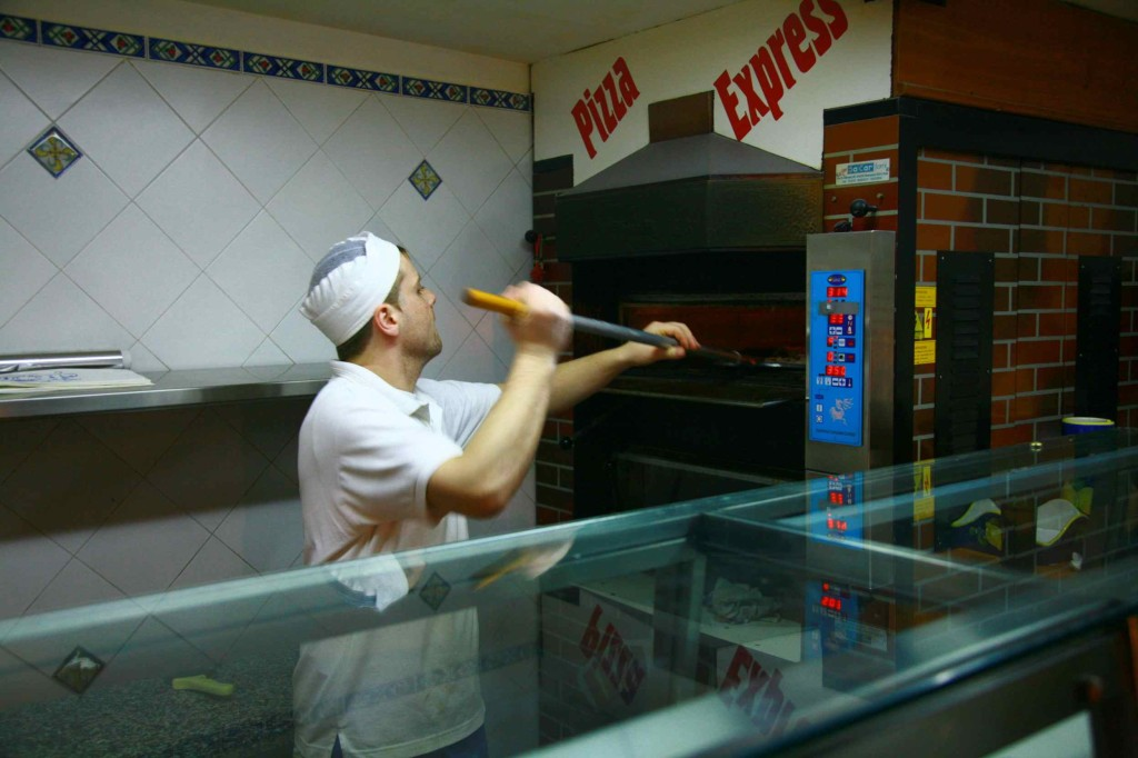 アマルフィのおすすめピザ屋 PIZZA EXPRESS