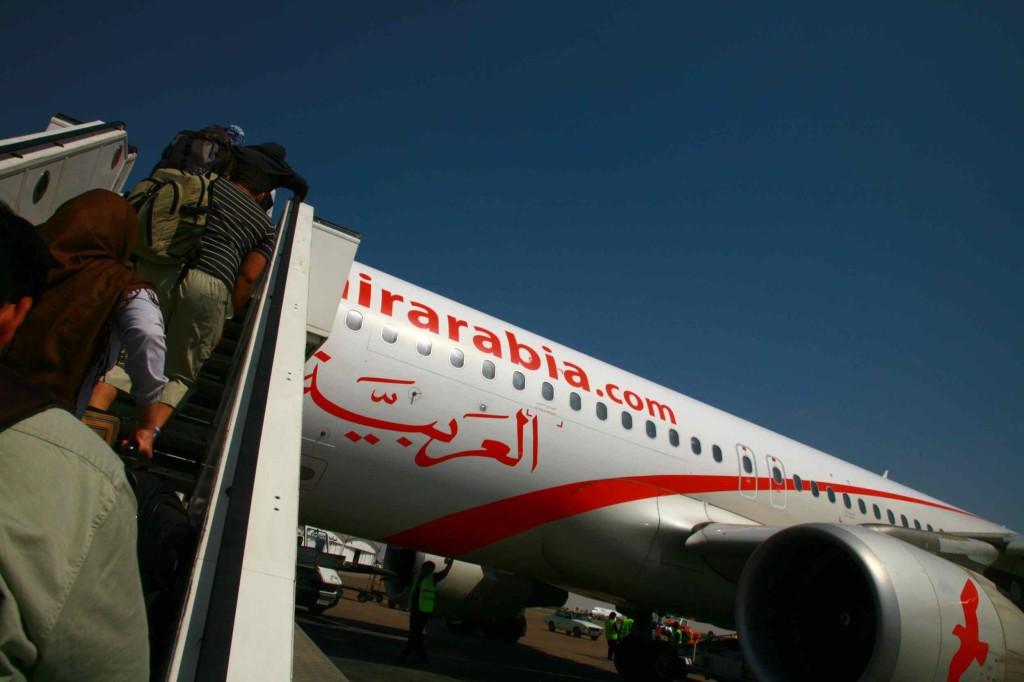 エアアラビアの機体