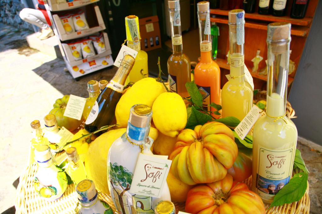 南イタリアはレモンの名産地。アマルフィはレモン関連のお土産がたくさんありました。
