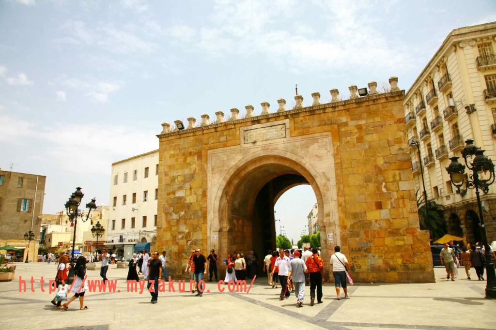 チュニジアの世界遺産「チュニス旧市街」Tunisia - Tunis001_