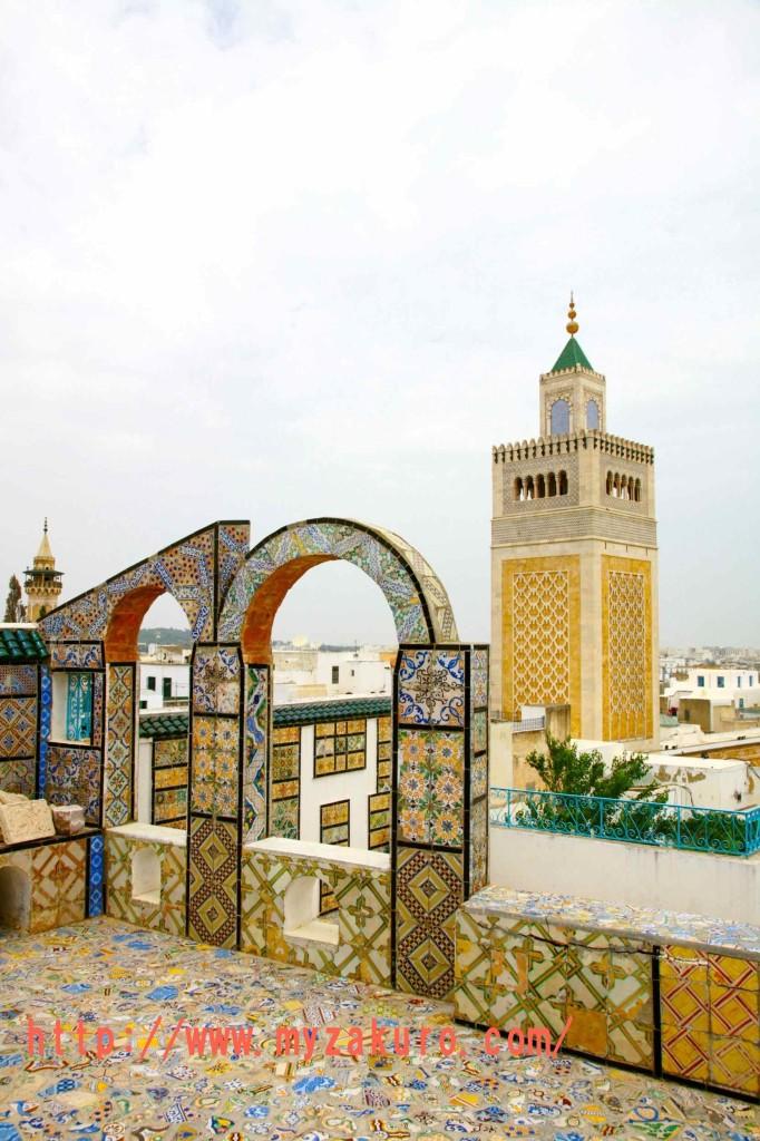 チュニジアの世界遺産「チュニス旧市街」Tunisia - Tunis011_