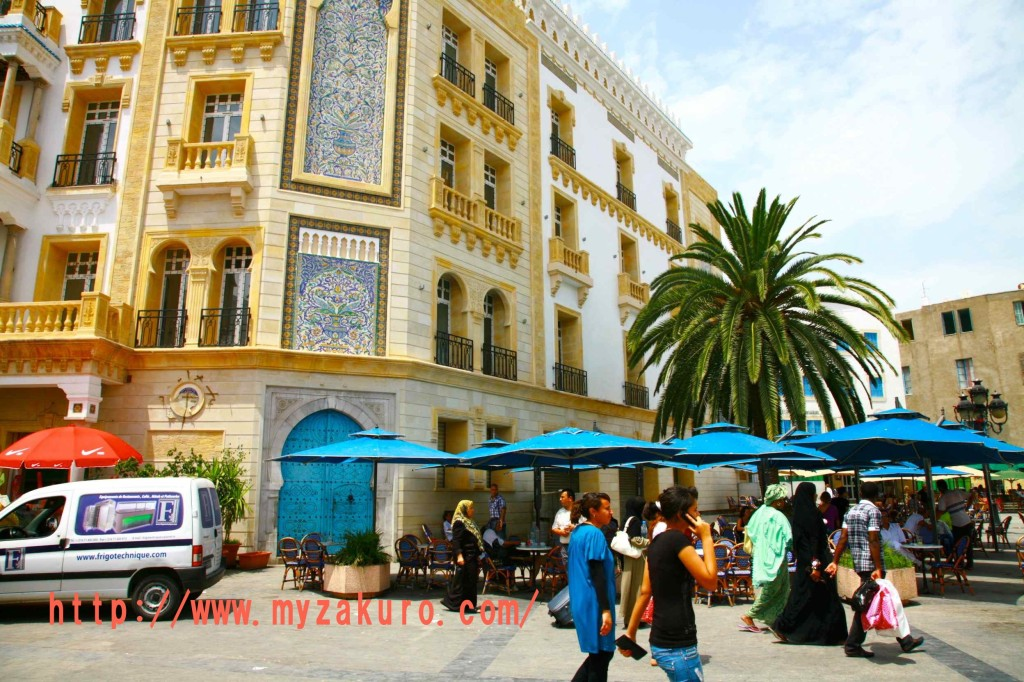チュニジアの世界遺産「チュニス旧市街」Tunisia - Tunis013_