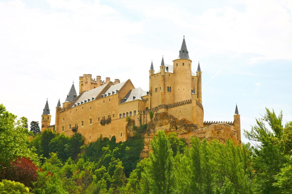 セゴビアのアルカサル(白雪姫のモデルになったお城)