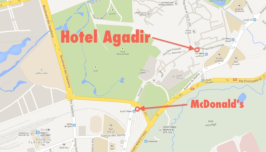 Fez - Hotel Agadir