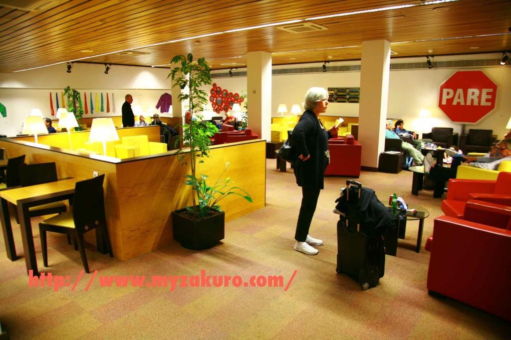 ポルトガル•リズボン空港(ポルテラ空港)の空港ラウンジ