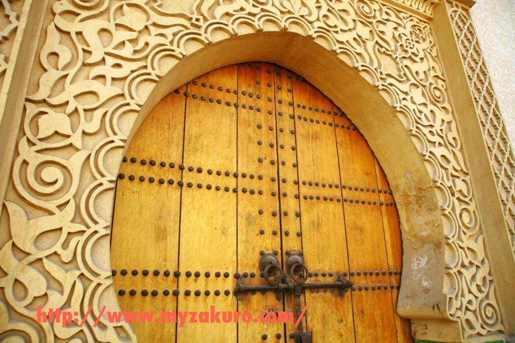 フェズ王宮のドア