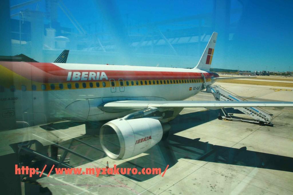 イベリア航空の機体。