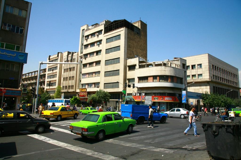 テヘラン市内