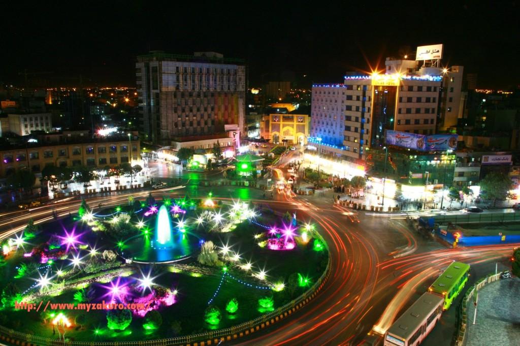 マシュハドの夜景