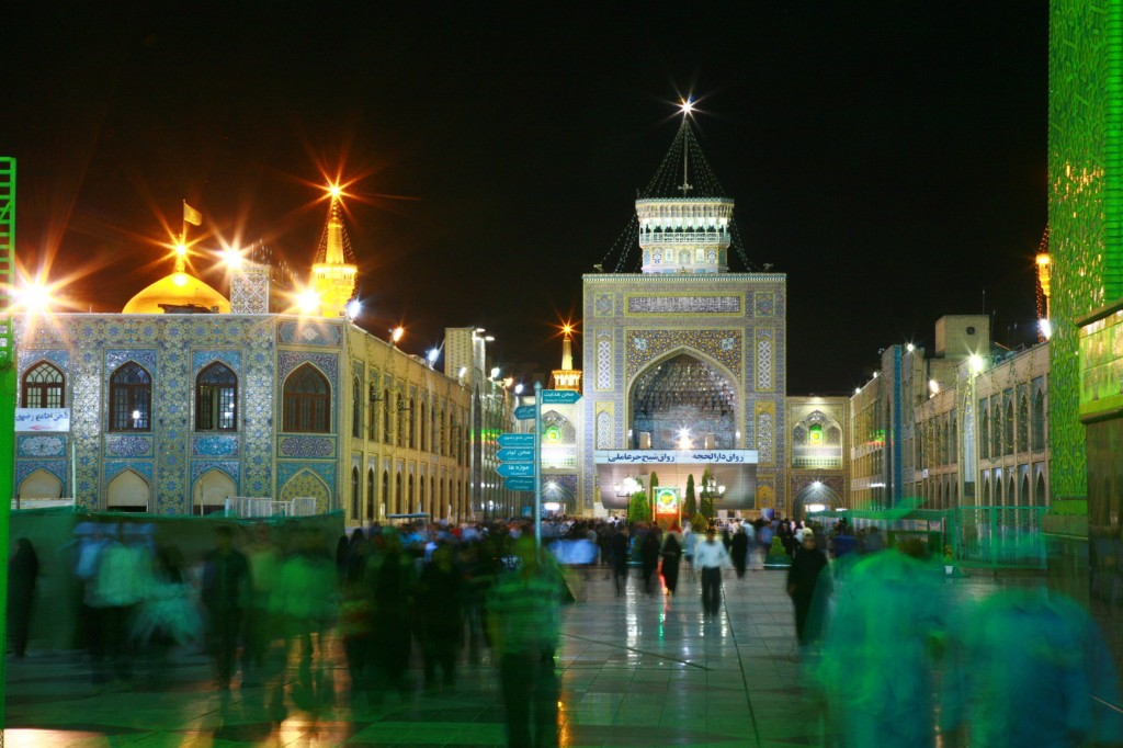 イスラム教シーア派の聖地マシュハドにある「イマーム・リダー廟」