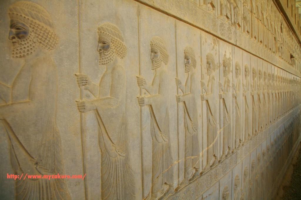 イランの世界遺産ペルセポリス遺跡へ行ってきた