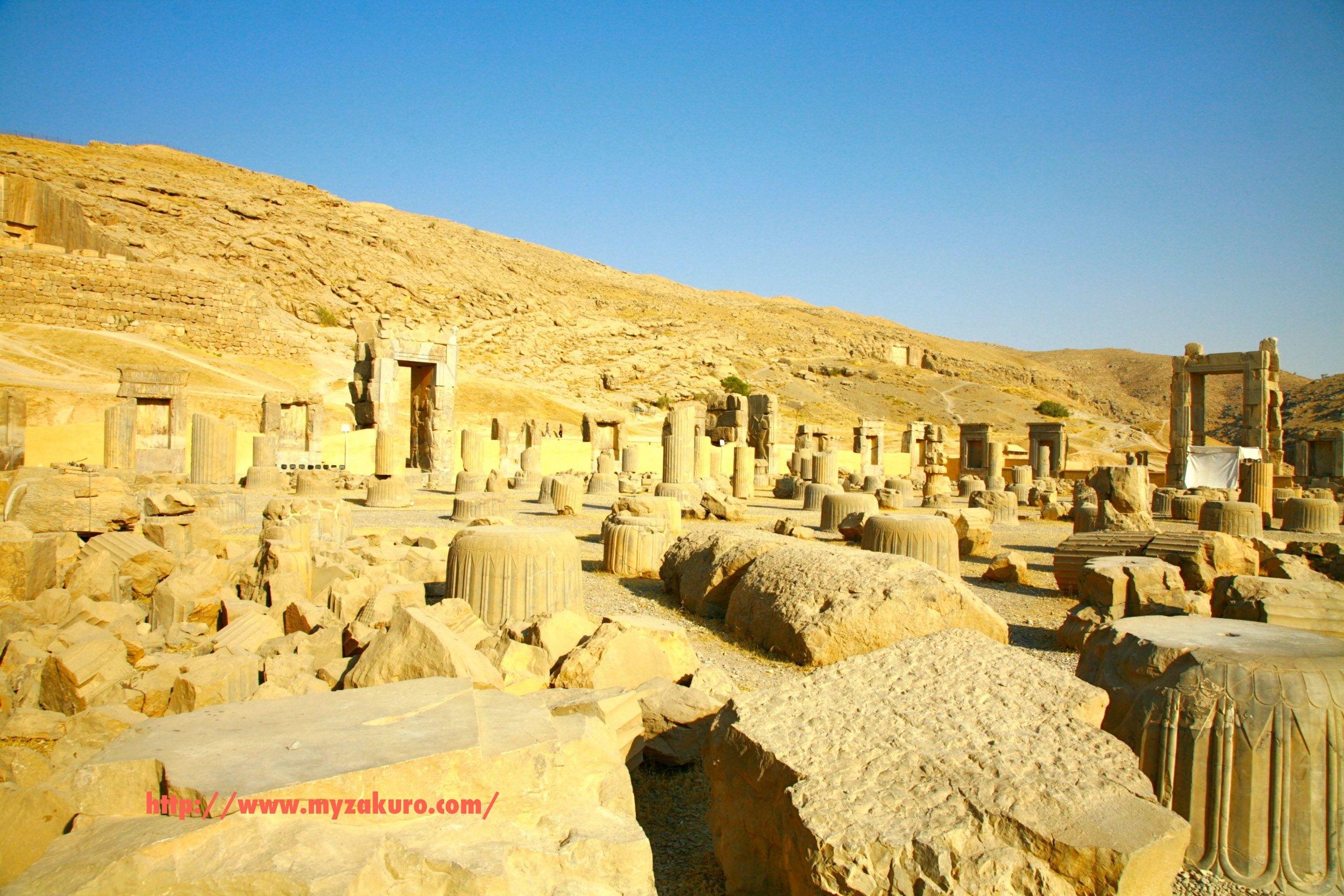 Iran - Persepolis011_ イランの世界遺産ペルセポリス遺跡へ行ってきた | 白
