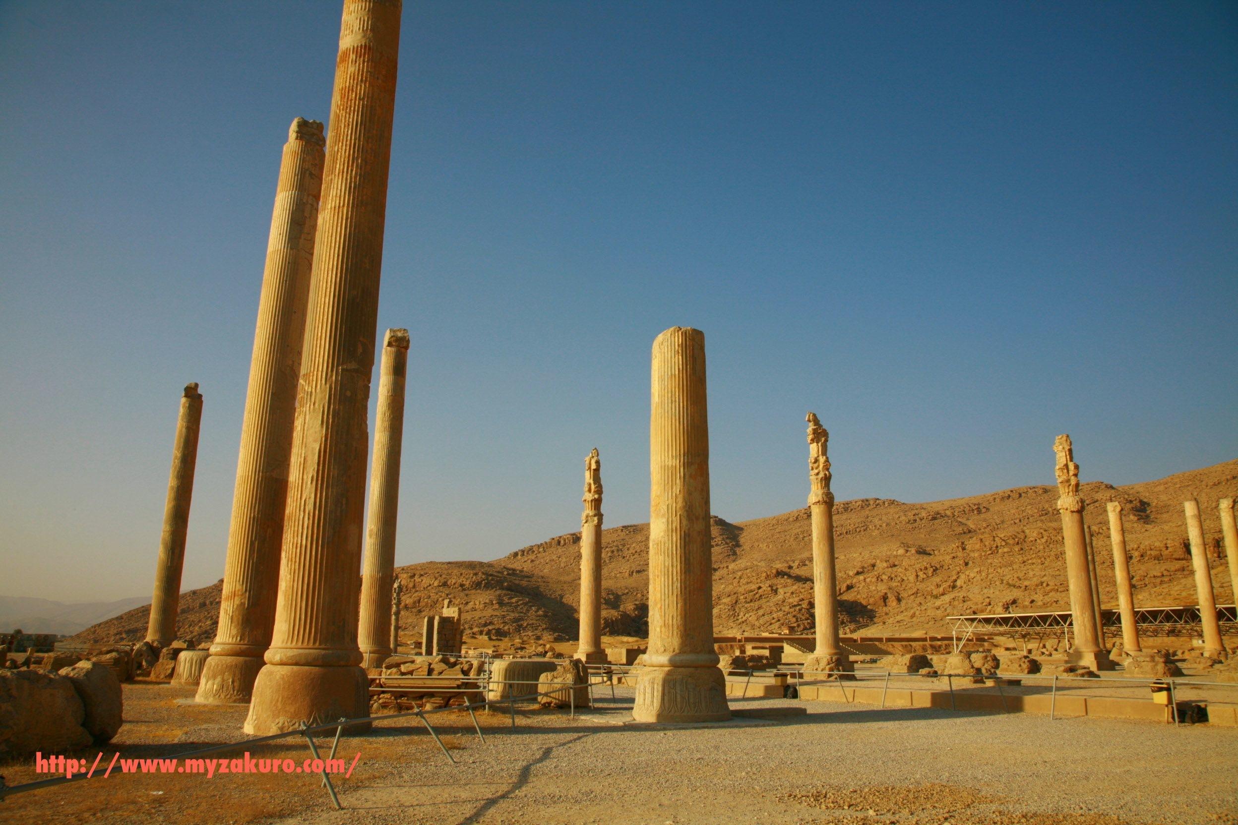 Iran - Persepolis029_ イランの世界遺産ペルセポリス遺跡へ行ってきた | 白