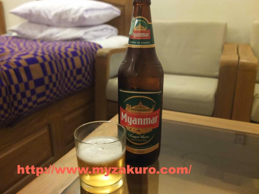 人生で飲んだビールの中で一番マズかったミャンマービール