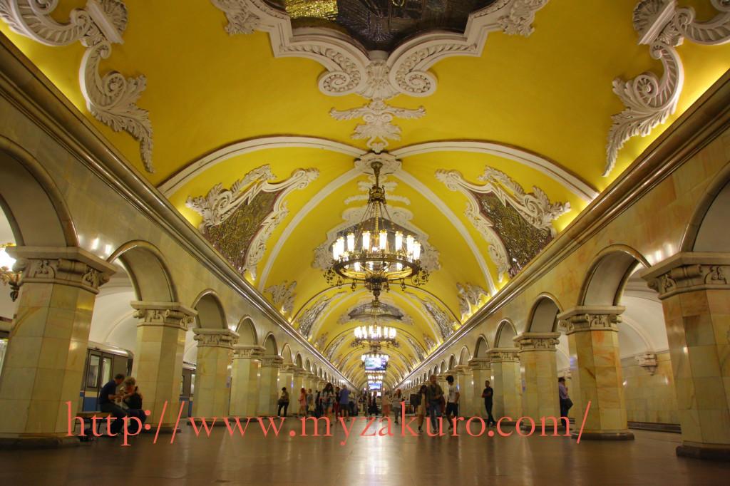 コムソモーリスカヤ駅:5号線