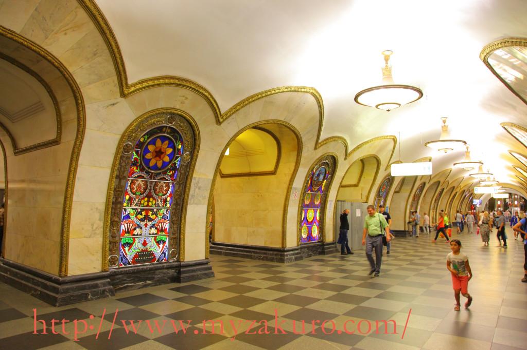 ノヴォスロボーツカヤ駅:5号線01