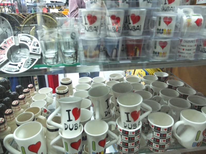 ドバイのバラマキお土産-マグカップ