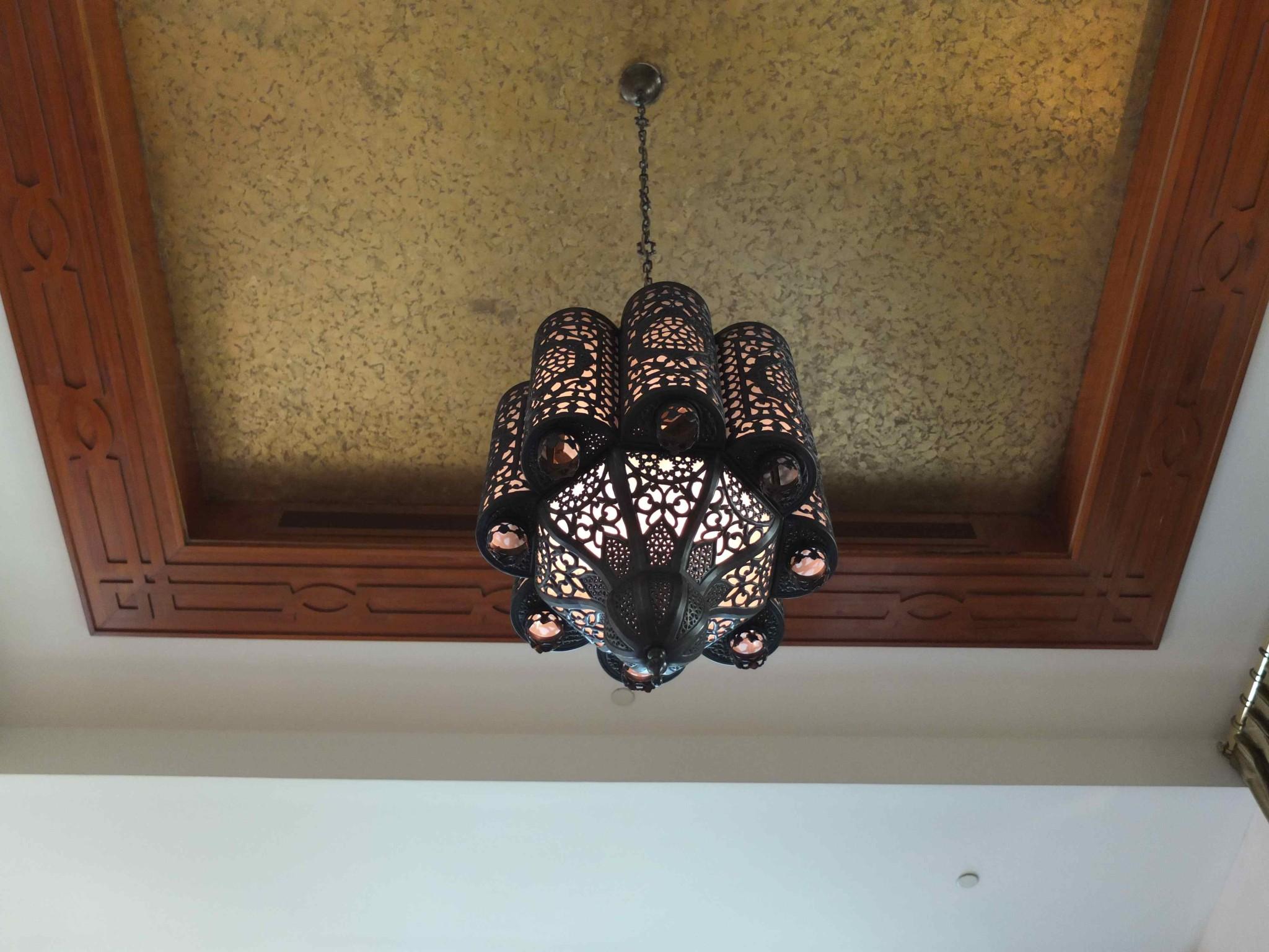ランプがお洒落
