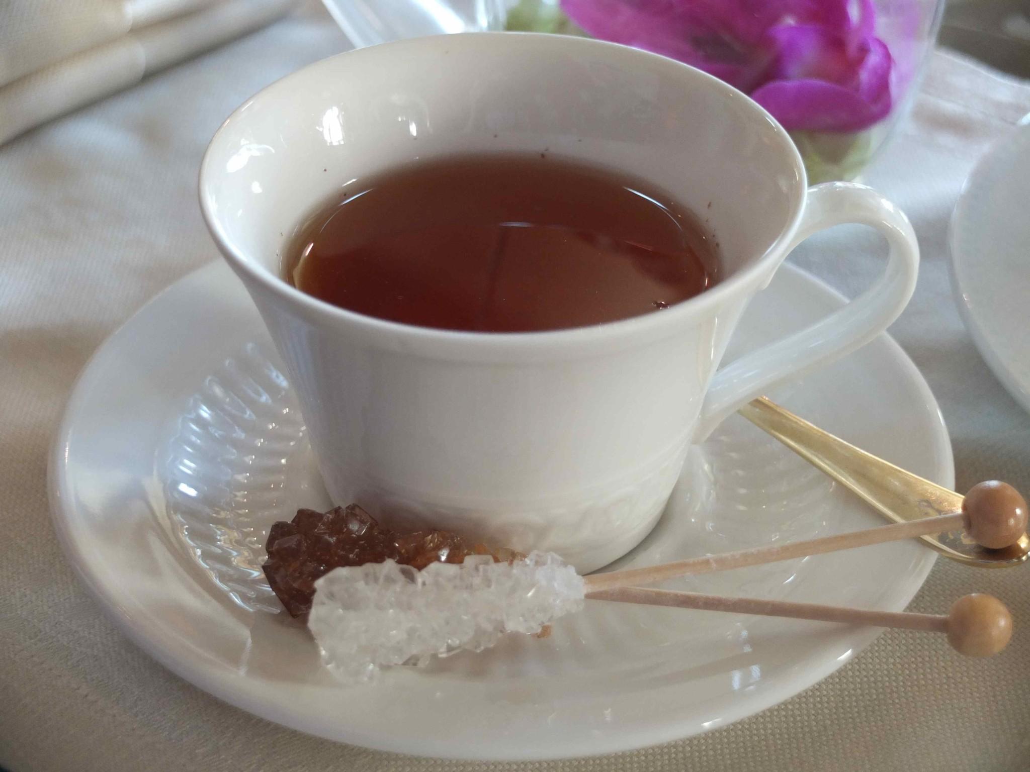 お砂糖がお洒落な紅茶